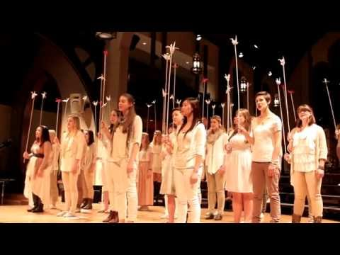 Fox in the Snow - Coastal Sound Youth Choir: Indiekor 2013  (Belle and Sebastian cover)