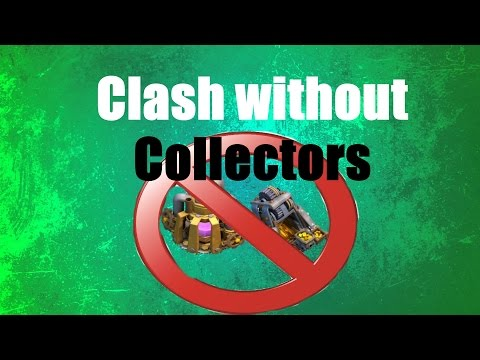 Clash of Clans - NEW SERIES Episode 1: Clash without Collectors Quest to Level 75