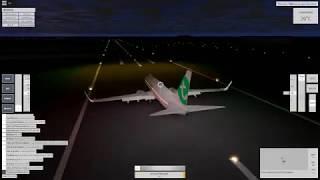 ROBLOX - Velocity Flight Simulator - Your average night approach.