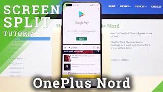 How to Create Spilt Screen in OnePlus Nord - Double Screen