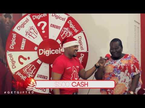 Digicel Grenada #GetGifted Christmas - Wheel Spin 1