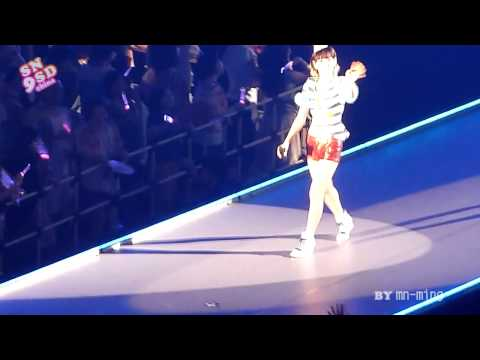 110629 Fancam SNSD Born To Be A Lady @ Japan Arena Tour Concert in Yoyogi