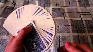 Классический веер - Как делать веер из карт - Обучение