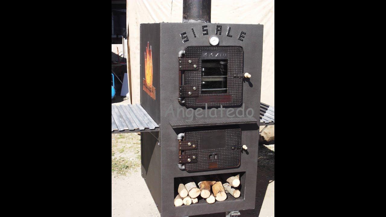 Construcci n de horno de le a horno de le a sisale youtube for Construccion de chimeneas de lena