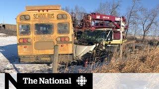 Alberta town pulls together after bus crash