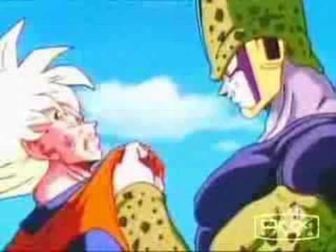goku vs cell -scatman remix-