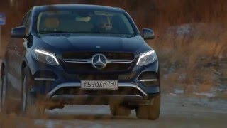 Mercedes GLE Coupe. Моторы 216