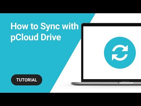 How to Sync files with pCloud Drive