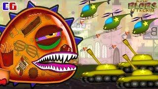 - ОХОТА на ГИГАНТСКОГО СЛИЗНЯКА МУТАНТА Приключение инопланетной слизи в Игре Mutant Blobs Attack