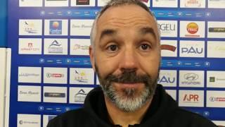 Réaction de Frédéric Reculeau après Pau FC - Avranches (2-0)
