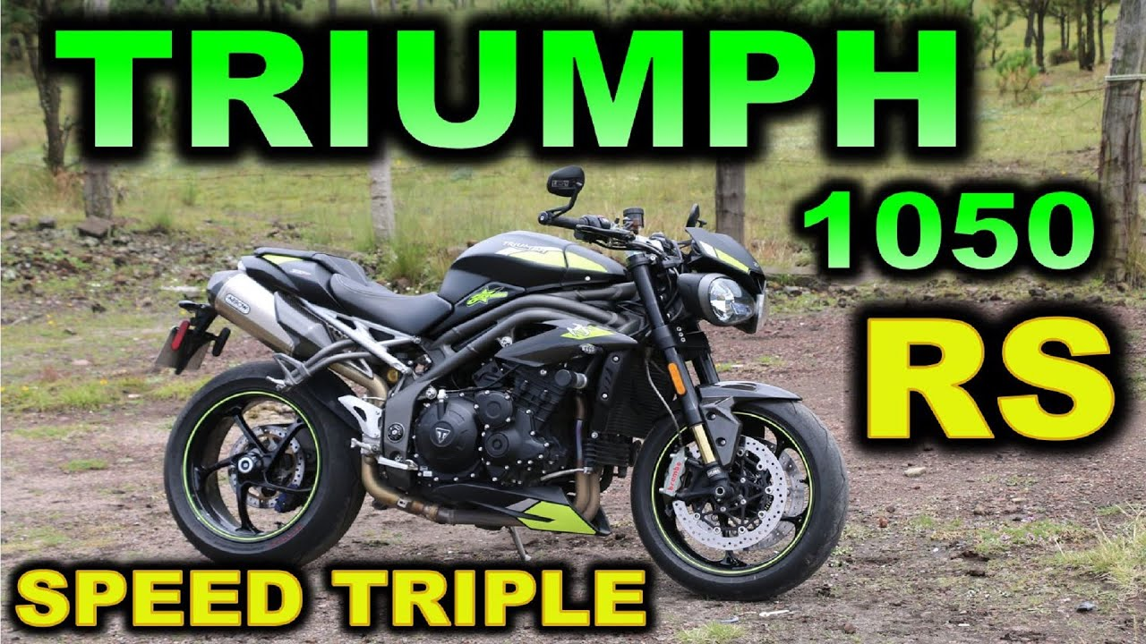 TRIUMPH SPEED TRIPLE 1050 RS 2021 | REVIEW EN ESPAÑOL