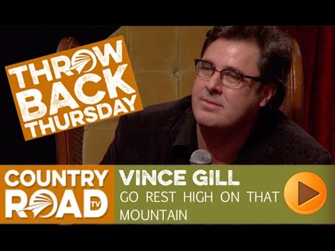 "Vince Gill sings the moving ""Go Rest High On That Mountain"" on Country's Family Reunion"
