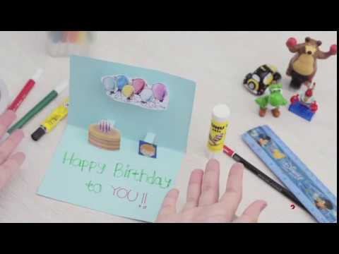 Cara Membuat Kartu Ucapan Cantik Sendiri Dengan Mudah Youtube