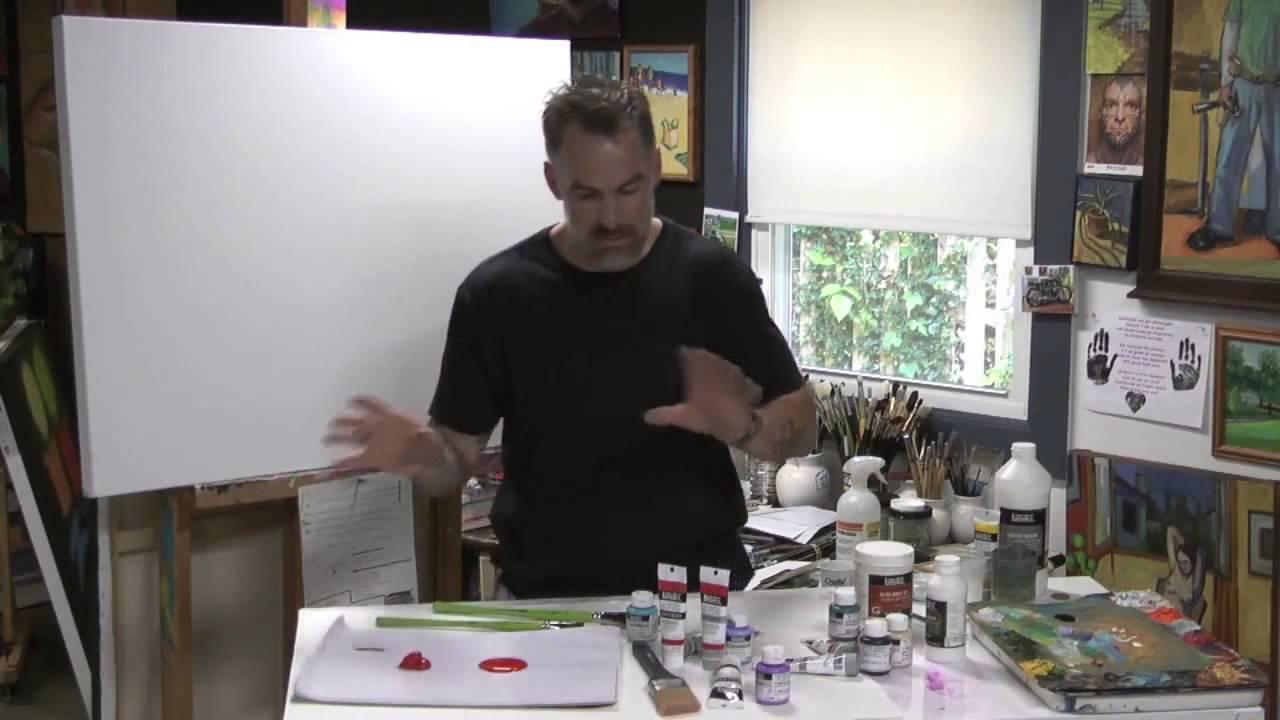 liquitex soft body acrylic colour acryclic painting soft