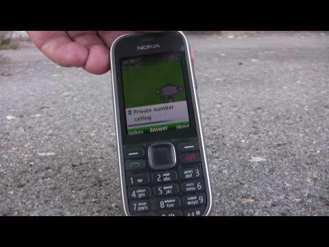 Nokia 3720 classic drop test