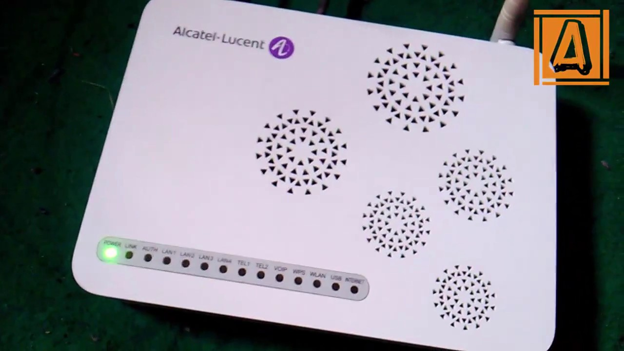 Cara Hard Reset Modem Alcatel Lucent GPON Home Gateway