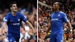 FOOTBALL NEWS: MORATA LEARNING FROM DROGBA AS HE SEEKS TO WRITE HIS OWN CHELSEA LEGACY