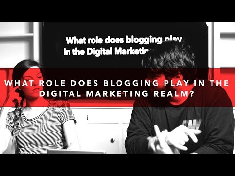 What Role Does Blogging Play In The Digital Marketing Realm? | 10 Words or Less