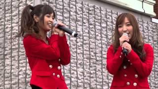 2012年11月3日 氏郷祭り イベントステージ 元SDN48の2人が梅田悠の地元 ...