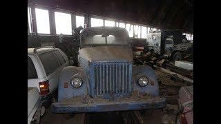 Заброшенный гараж СССР