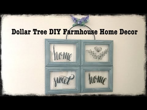 Dollar Tree DIY Spring Home Decor Farmhouse Style Easy $5