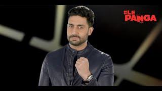 Star Sports Pro Kabaddi: Abhishek Bachchan #LePanga