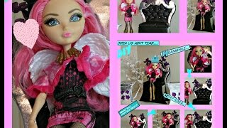 How To Make A Doll Chair - Doll Crafts - After High Collection - Diy A Doll Chair