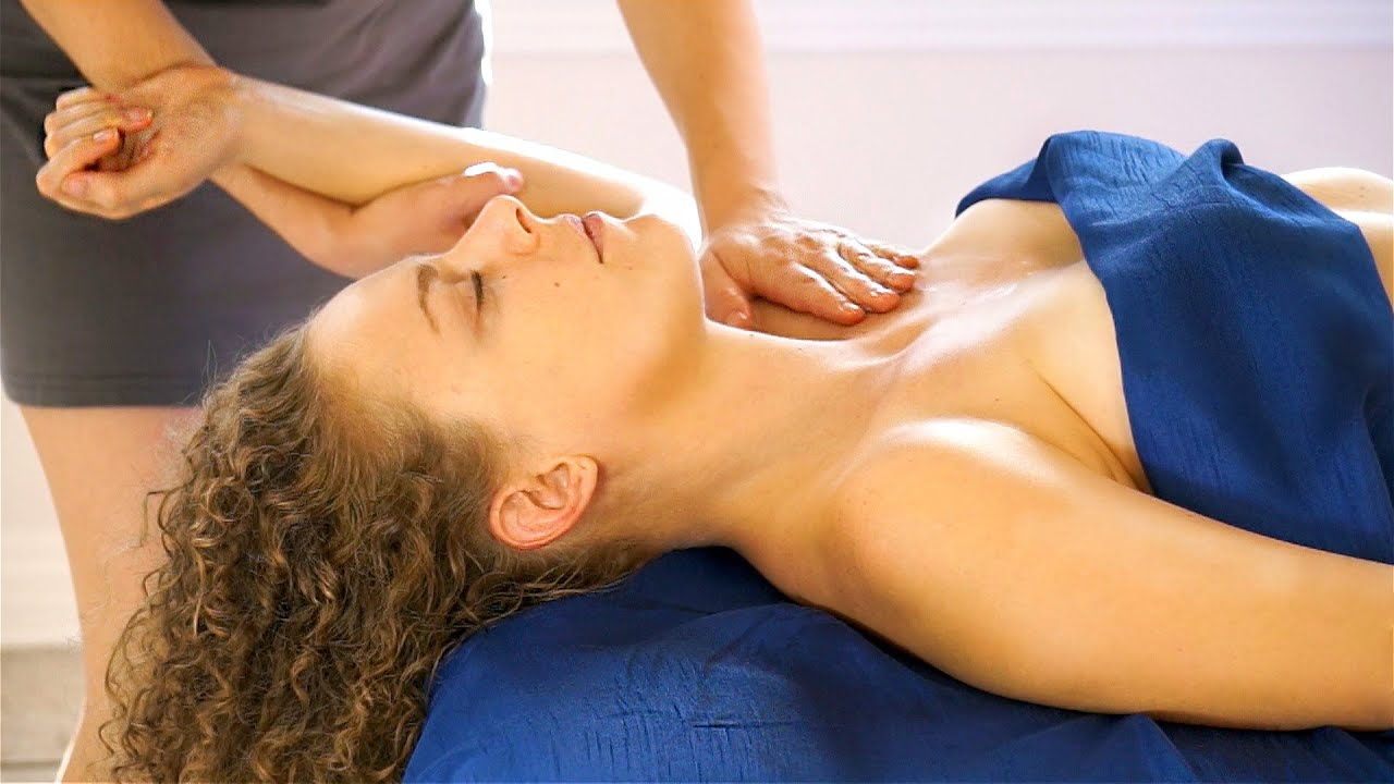 Best Relaxation Upper Body Massage Therapy Swedish -7316