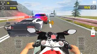 Speed Moto Rider - Gameplay Android game - motorcycle racing games