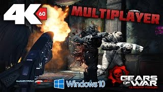 Gears of War Ultimate Edition PC Multiplayer - 4K 60FPS Gameplay