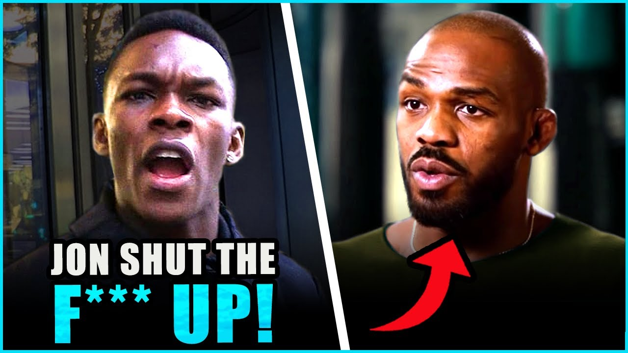 Israel Adesanya RESPONDS to Jon Jones saying that he would 'rip his arm off',  Jan responds to DC