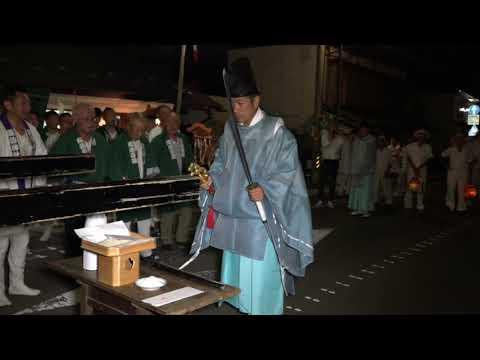 2019 令和元年 桑折町 諏訪神社例大祭 北町講中編 剣の舞