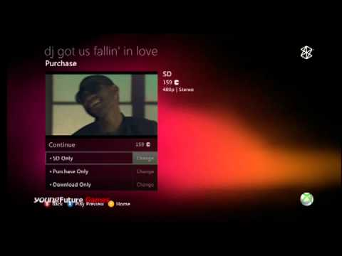 Xbox 360 Zune music Marketplace Preview