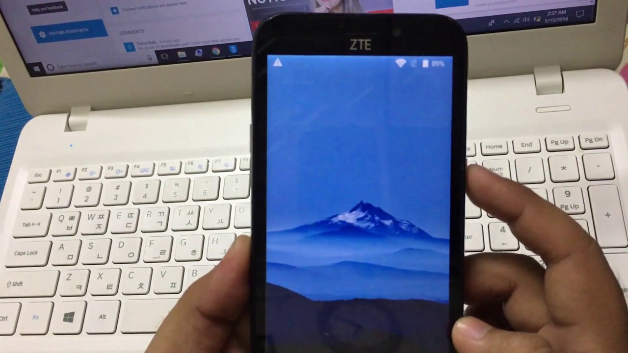 ZTE Avid Trio FRP bypass | ZTE Z833 google account removal