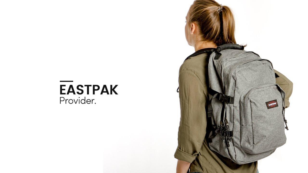 fb90a11c919 Eastpak Provider Backpack - Bagageonline - YouTube
