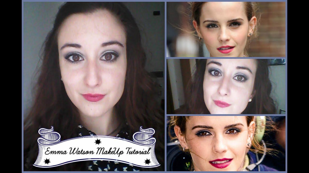 Emma Watson Inspired Makeup Tutorial | ByGiulia - YouTube  Emma Watson Ins...