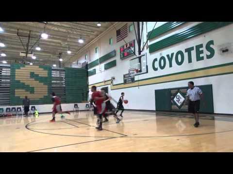 7th Grade Ballers VS Tracks Basketball Club 4 23 16