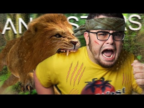 Attacked by a HUGE HUNGRY LION | Ancestors #2 |