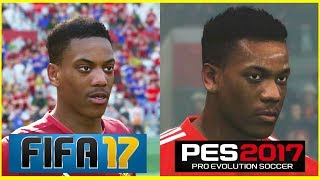 FIFA 17 Faces Converted to PES 2017 (PC Mods)