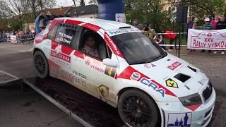 Rallye Vyškov 2017