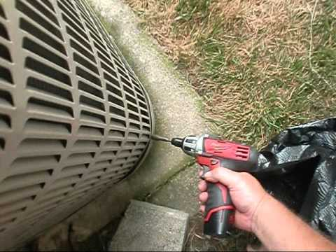 HVAC Service : How to Charge a Air Conditioner and Clean