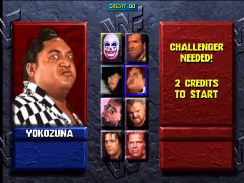 WWF Wrestlemania:The Arcade Game-World Wrestling Federation Championship Playthrough with Yokozuna