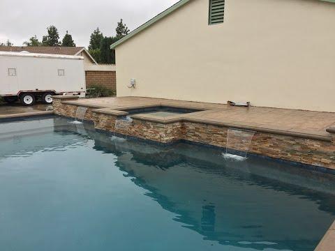 La Verne, CA Pool Build Timelapse