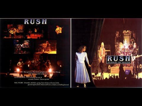 RUSH - Anaheim 1981 Master - 1981/06/16 - Moving Pictures Tour