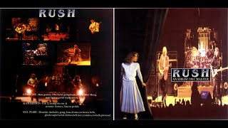RUSH - 1981/06/12 - Anaheim 1981 Master (CD) - Moving Pictures Tour