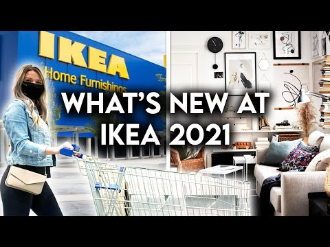 IKEA SHOP WITH ME 2021   NEW PRODUCTS + DECOR