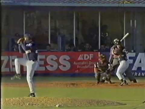 Gold Coast Cougars vs Melbourne Monarchs - 97/98 ABL Australian Baseball League -