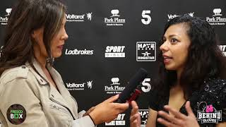 RUQSANA BEGUM REACTS TO FIGHT ENDING IN A DRAW IN HER PRO-DEBUT