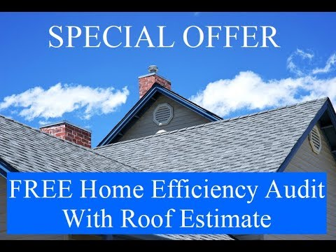 Roof Repair and Your Home Energy Costs **SPECIAL OFFER**