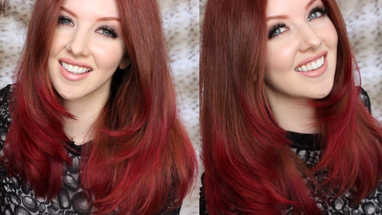 How to: DIY Pink Ombre Hair Tutorial - YouTube